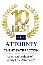 10 Best 2014-2019 | ATTORNEY CLIENT SATISFACTION | American Institute of Family Law Attorney